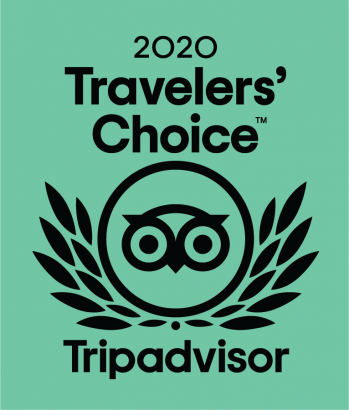 Logo 2020 Traveler's Choice Tripadvisor